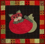 Pattern - Garden Patch Cats - Tom-ato - Block 26