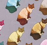 Home Sew-eet Home - Cats - Grey