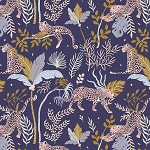 Magic of Serengeti - Leopard - Navy