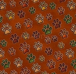 Jungleland - Big Cat Paws - Red