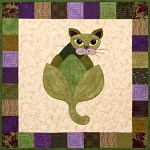 Block Kit - Garden Patch Cat - Block 22 - Le Arti-Chat