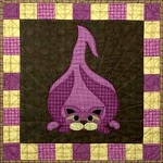 Block Kit - Garden Patch Cat - Block 4 - Walla Walla Kitty