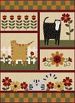 Quilt Kit - Kitty Cat Flannel Quilt