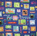 Fat Quarter - Kitty Patch