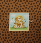 Lyon the Lion - Pillow Panel