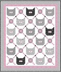 Cat Happy - Meow Mix Quilt - KIT