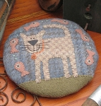 Pattern - My Cat Claude Pincushion