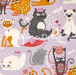Nicole's Prints - Whiskers - Lilac