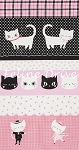 Nyan Cat - Panel - Red/Black/Pink - OXFORD CLOTH