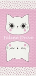 Nyan Cat - Panel - Pink/White - OXFORD CLOTH
