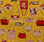 Nyan Cat - Kitty Purse Toss - Yellow - OXFORD CLOTH