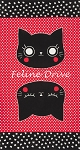 Nyan Cat - Panel - Red/Black - OXFORD CLOTH