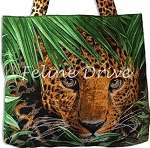 On the Wild Side -  Leopards - Tote Panel