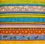 Fat Quarter - Pampered Pets - Stripe