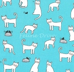 Paw Prints for ASPCA - Clever Cat - Sky