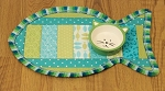 Pattern - Pet Placemat - Quilt As You Go