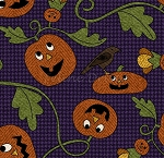 Flannel - Pumpkin Party - Pumpkin Patch