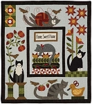 Kit - Purrfectly Pieced Flannel Quilt