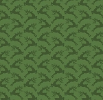 Fat Quarter - Santa's Stash - Dash Away All - Green