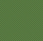 Fat Quarter - Santa's Stash - Gingham - Green
