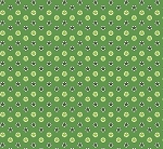 Fat Quarter - Santa's Stash - Stars - Green