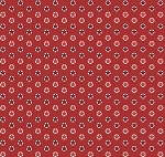 Fat Quarter - Santa's Stash - Stars - Red