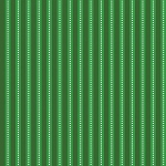 Fat Quarter - Santa's Stash - Dotted Stripe - Green