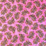 Fat Quarter - Sew Catty - Floral - Pink