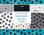 Fat Quarter Bundle - Somebody to Love - 7 FQs