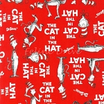 End of Bolt Piece - The Cat in the Hat - Red - 29