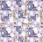 The Secret Life of Pets - Chloe Unimpressed - Lilac