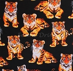 End of Bolt Piece - Tiger Cubs - Black - 7