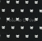 Whiskers & Tails - Cat Heads - Black