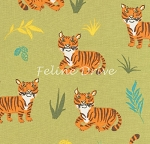 Wild Adventure - Tigers - Green