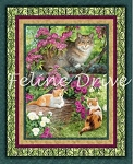 Wild Wings SImple Pleasures - Cat Panel