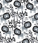 Flannel - Wild Ones - Lion