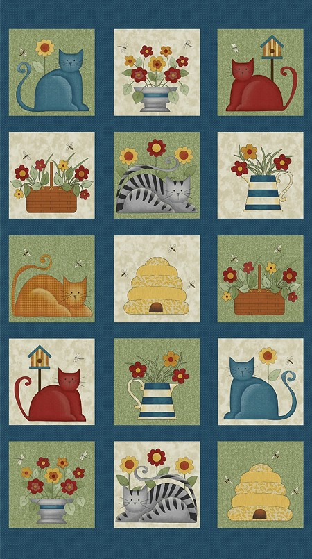 Colorful Cats - Block Panel