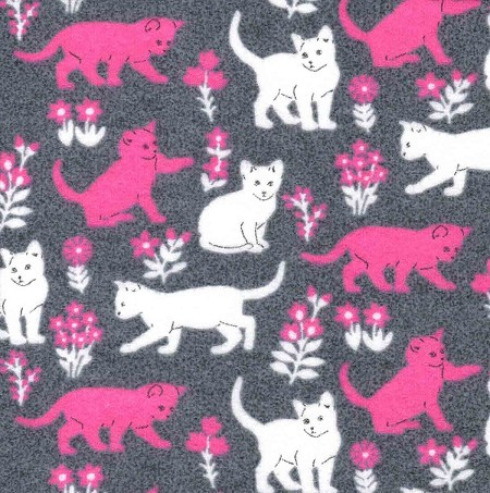 Flannel - Luxe Cats - Heather