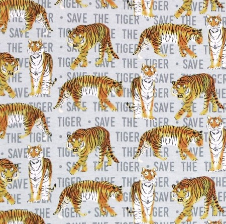 Flannel - Super Snuggle Flannel - Save the Tiger