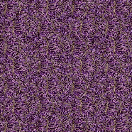 Cat-i-tude - Feather Frolic - Purple