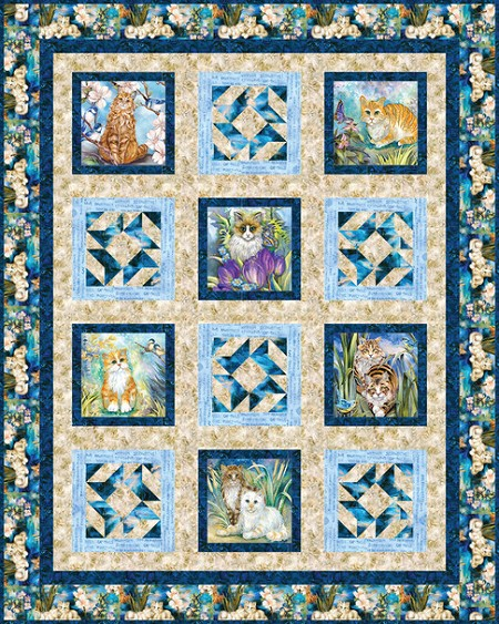 Quilt Kit - Sophisto Cats
