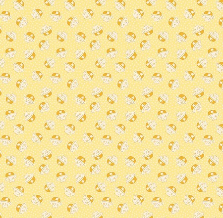 Storytime 30s - Kitties - Yellow