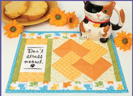 Pattern - Daily Mews Mug Mats