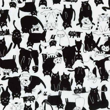 Whiskers & Tails - Black & White Cats