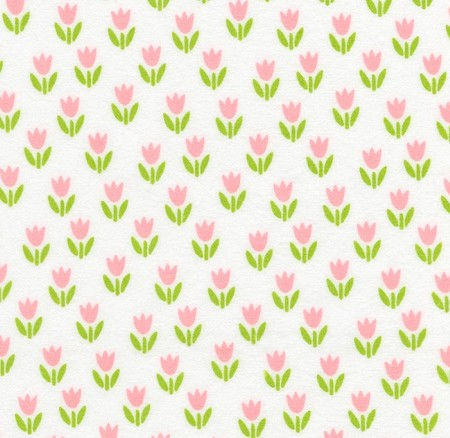 Flannel - Cozy Cotton Flannel - Tulips