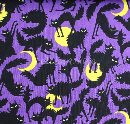 Boo! Kitty - Purple