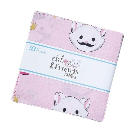 "5"" Squares - Chloe and Friends"