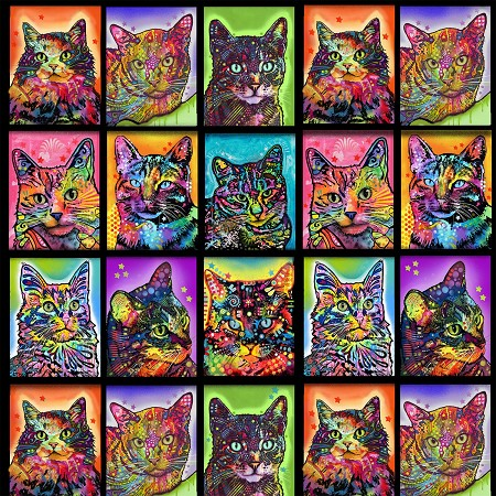 Crazy for Cats - Cat Blocks