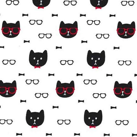 Fat Quarter - Dapper Cats