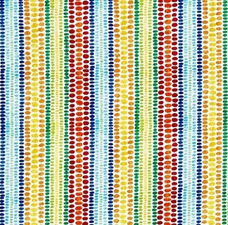 Fat Quarter - Dotty Stripe - Multi